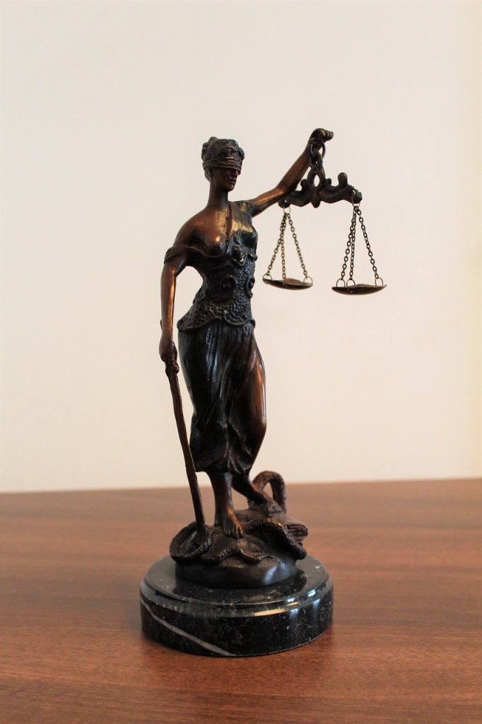 justitia, justice, blindness